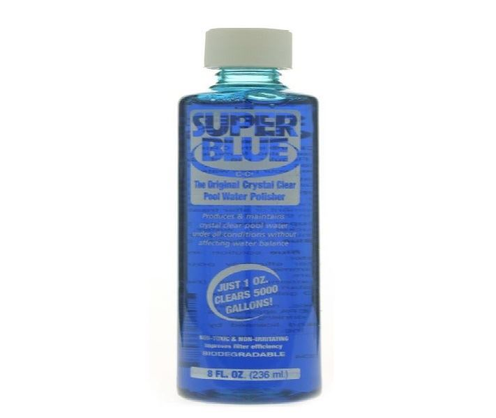 8 oz super blue water clarifier ro20152 pool spa for Blue water parts piscine